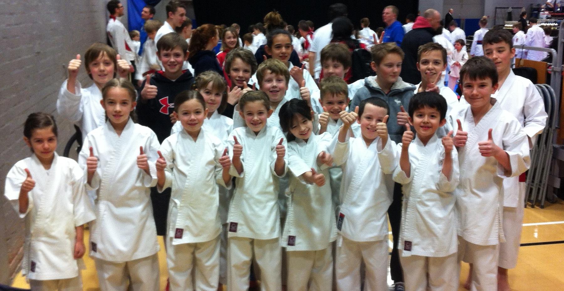 Carmarthenshire Karate Squad at KSE6
