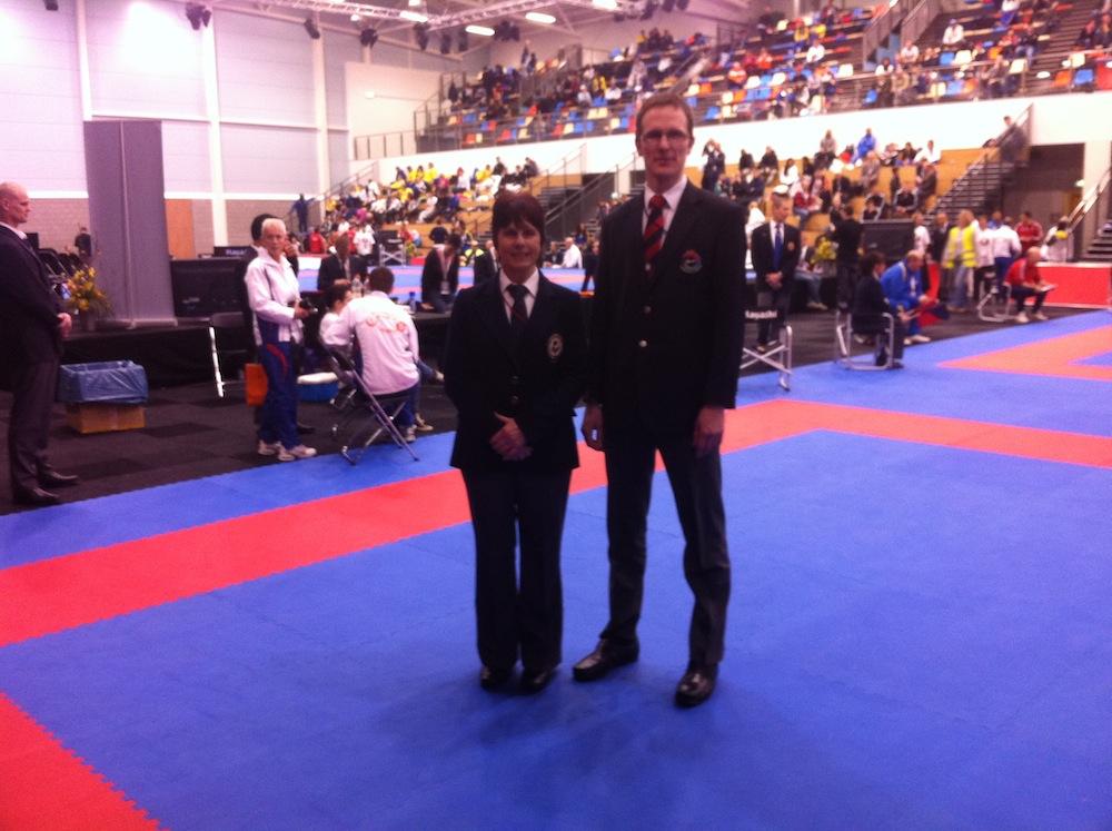 Carmarthenshire Karate at Karate1 Premier League, Netherlands 2013