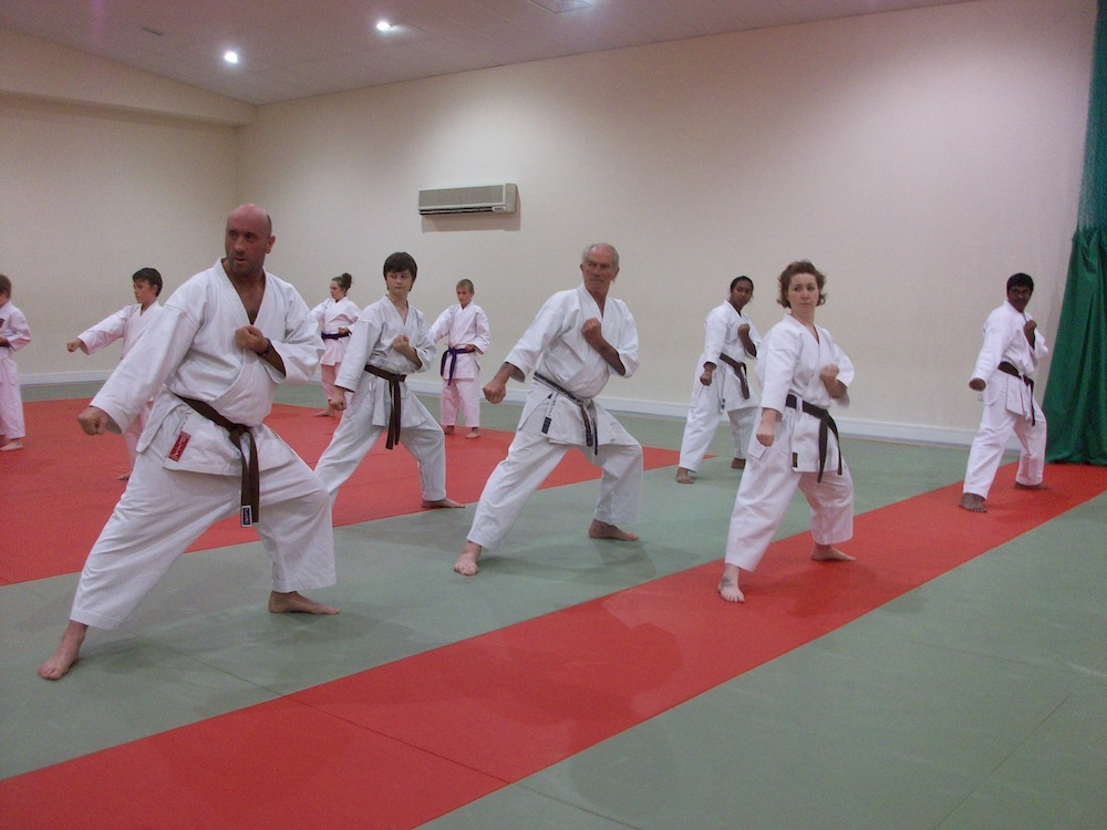 Carmarthenshire Karate Visiting Instructor Course
