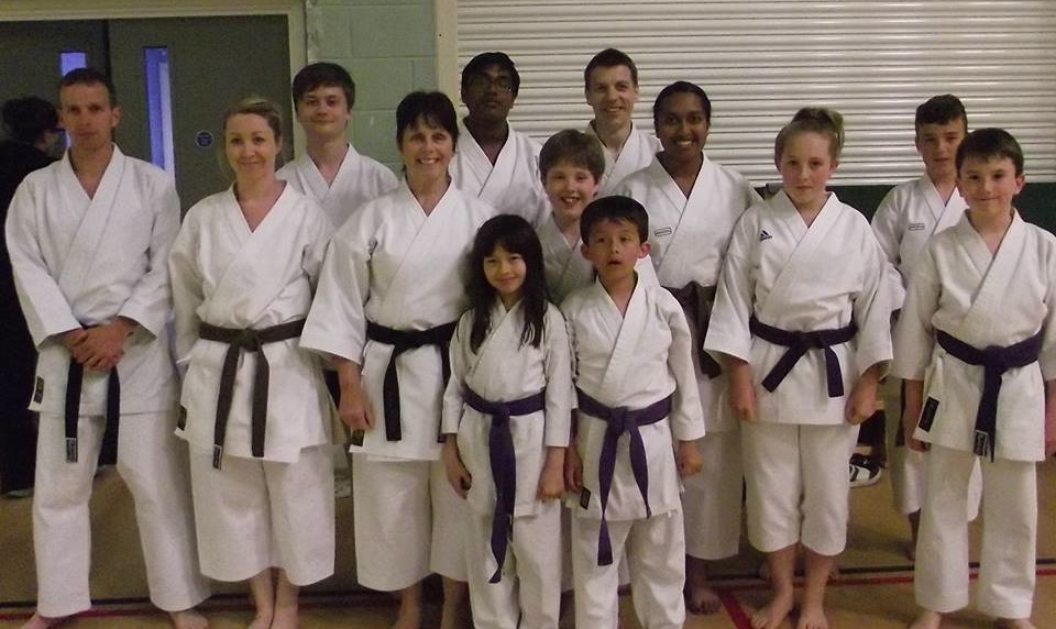 The Carmarthenshire group at the WHKK course