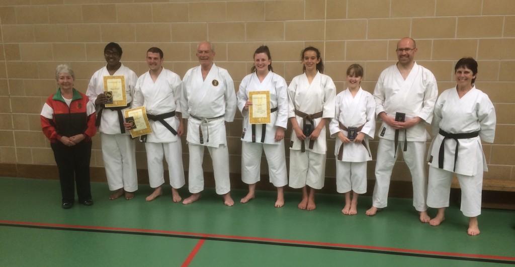Carmarthenshire Karate Senior Grading