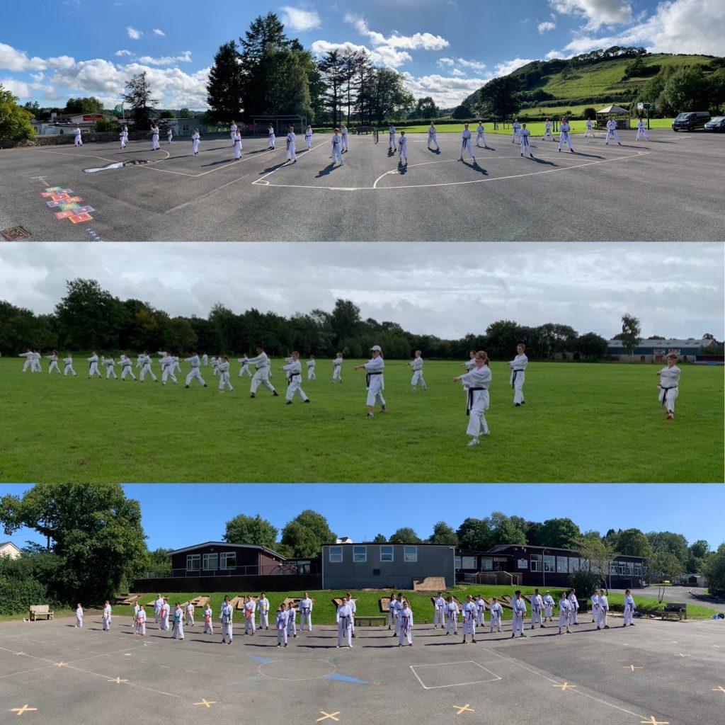 Carmarthenshire Karate Outdoor Dojos