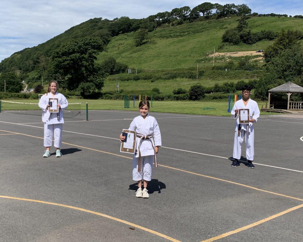 Carmarthenshire Karate Senior Grading, July 2020, 1st kyus