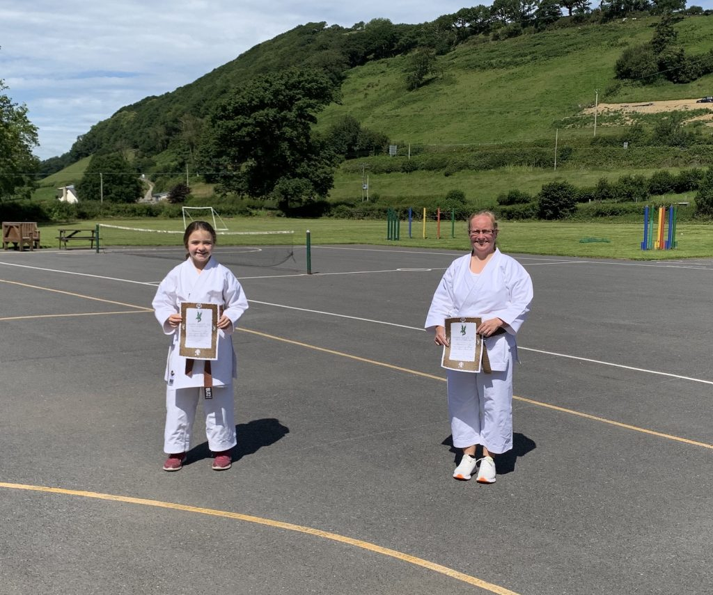 Carmarthenshire Karate Senior Grading, July 2020, 2nd kyus