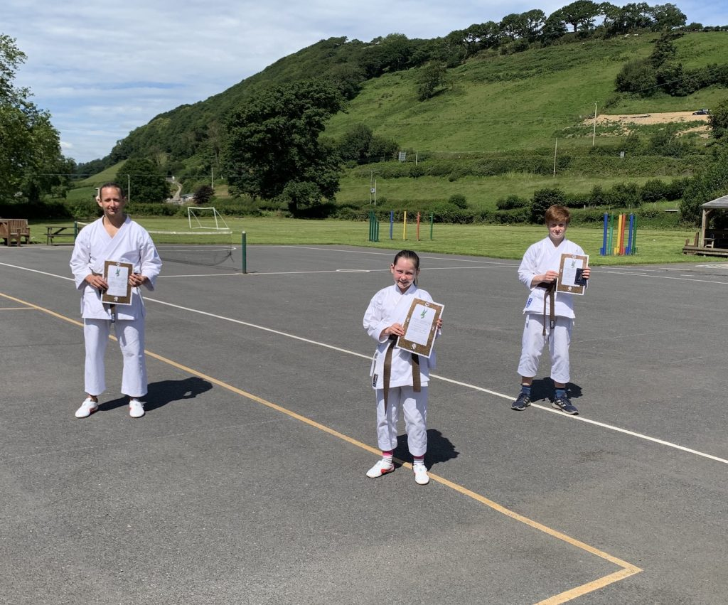 Carmarthenshire Karate Senior Grading, July 2020, 3rd kyus