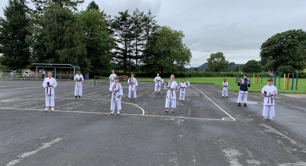 Carmarthenshire Karate Senior Grading August 2020