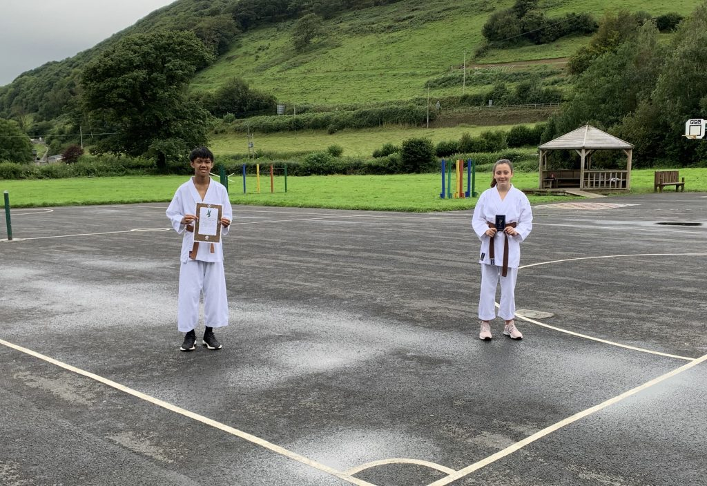 Carmarthenshire Karate Senior Grading August 2020 group 2