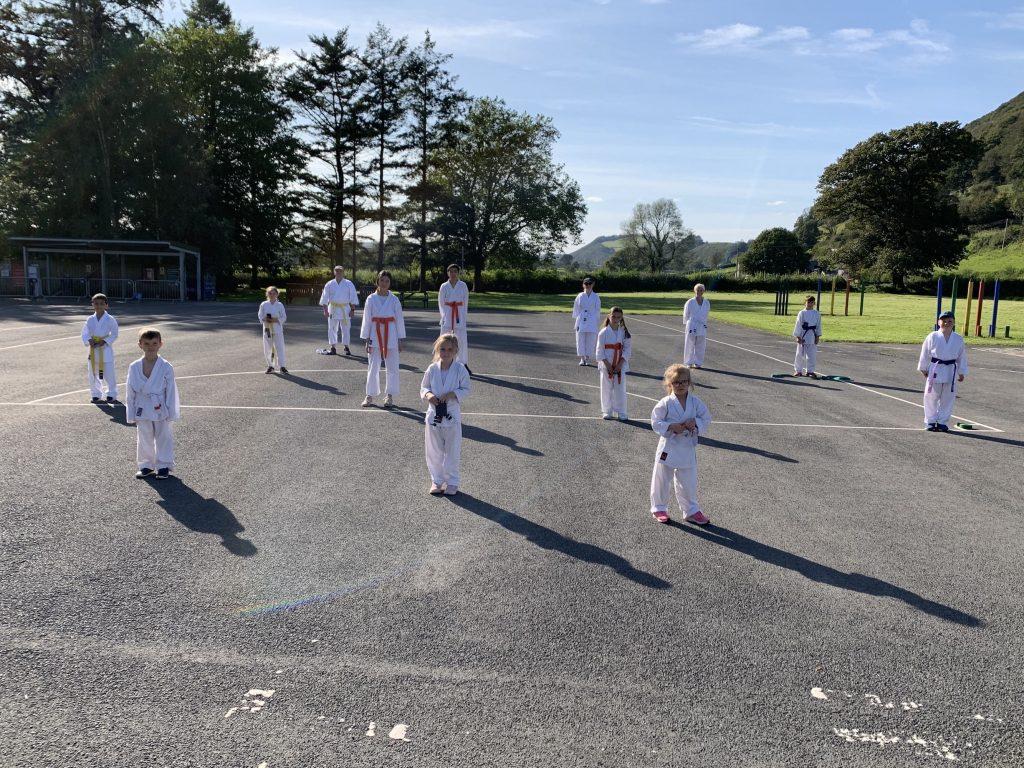 Carmarthenshire Karate Junior Grading September 2020